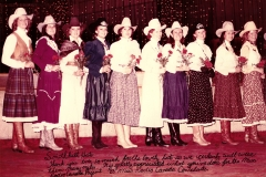 1983 Miss Rodeo Canada Contestants