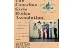 1984 Canadian Girls Rodeo Association