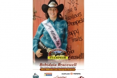 Bobidaia Bracewell - 2011 Williams Lake Stampede Princess