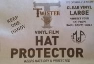 Hat Protector Rain Cover