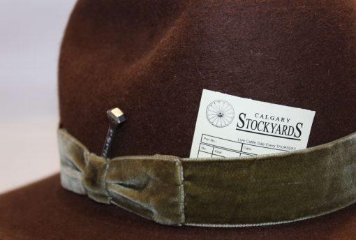 Freda Smithbilt Hats Paige 1912 Cowboy Cowgirl Hats Millinery