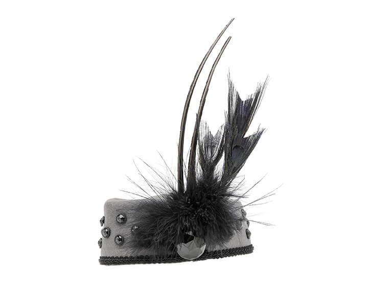 Smithbilt Holly Allen Charlie Pillbox Hats Polo Horse Racing Cocktail Millinery