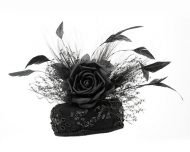 Smithbilt Holly Allen Claire Pillbox Hats Polo Horse Racing Cocktail Millinery