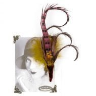 Aigrette Feather Pin Holly Allen Jewellery Smithbilt