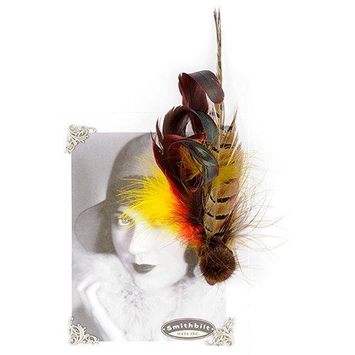 Aigrette Feather Pin Holly Allen Jewellery Smithbilt ... eebcf727211f