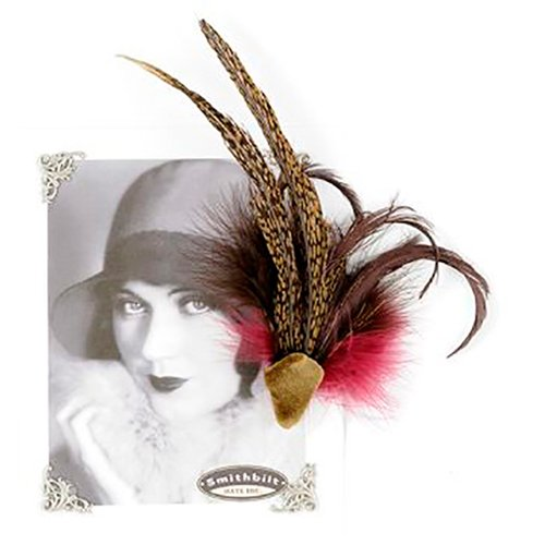 Aigrette Feather Pin Holly Allen Jewellery Smithbilt