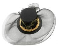 Smithbilt Holly Allen Anna Special Occasion Polo Hat Horse Racing Millinery