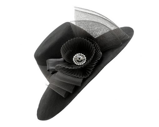 Smithbilt Holly Allen Constance Special Occasion Polo Hat Horse Racing Millinery