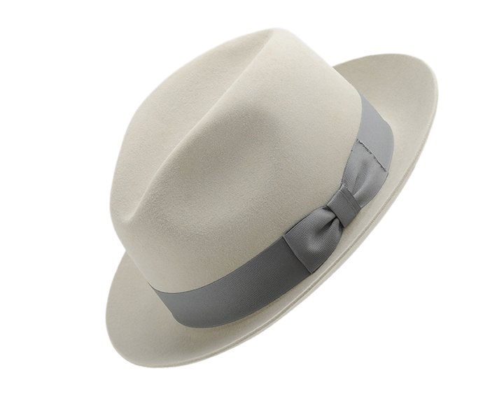 Wide Crease Fedora Smithbilt Knight Felt